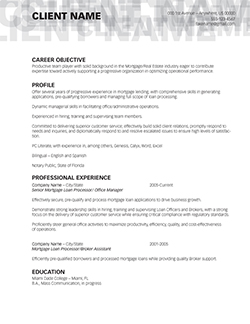 ... An Example Demonstrating What Weu0027d Do To Transform It Into A  Job Winning Career Tool! All Resumes Are Professionally Designed To Reflect  The Skill Set, ...  Short Resume Examples